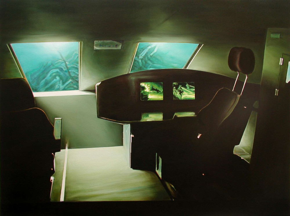 Hidden, 2006, 80 x 106cm, oil on linen