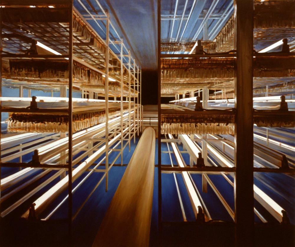 Zone, 1997,  oil on linen, 190 x 225cm