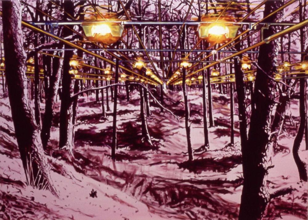 Picnic, 1999,  oil on linen, 150 x 210cm